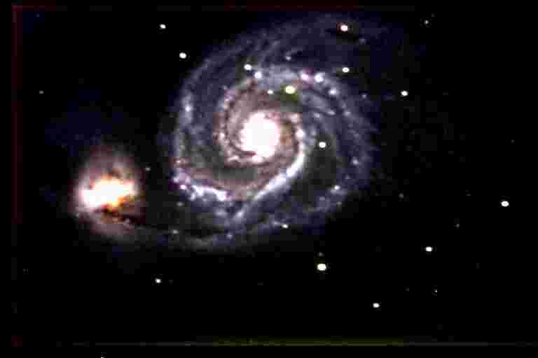 M51 Galaxy by Joe Petrick