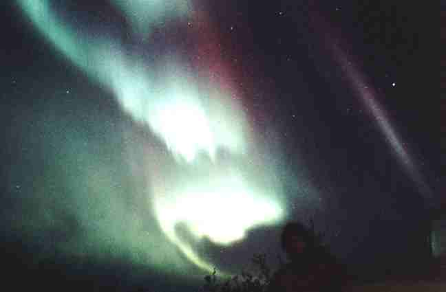 Northern Lights from Manitoba